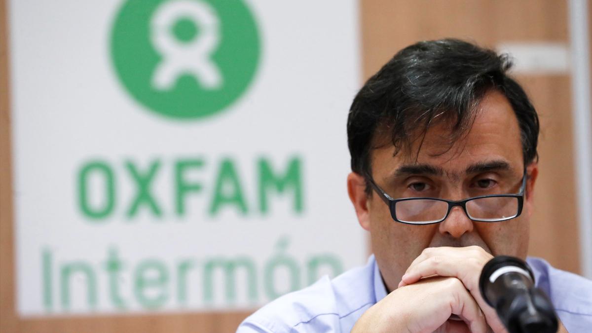 José María Vera, secretario general de Oxfam Intermón. (Foto: EFE)