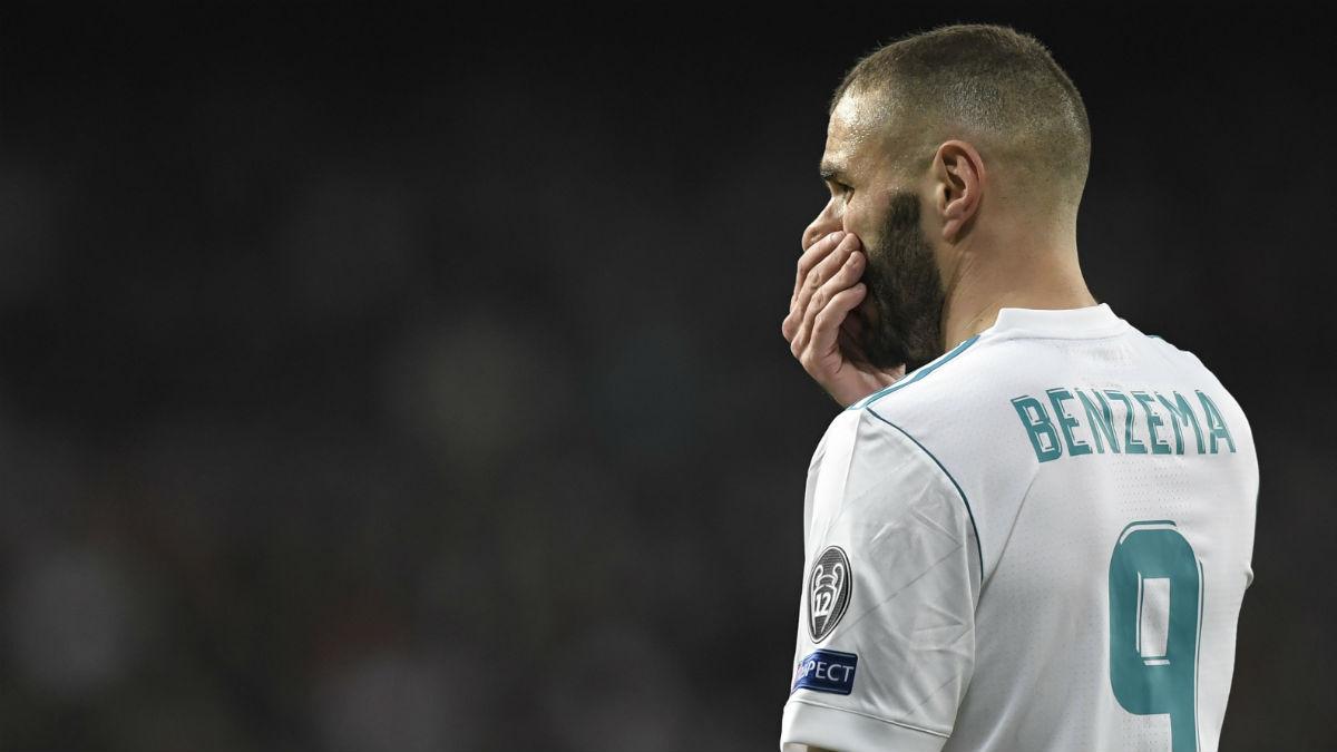 Benzema tiene peores números que Salah y Kane. (Getty)