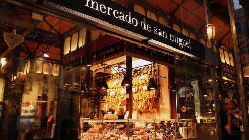 Mercado de San Miguel en Madrid (Foto. Facebook)