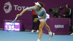 Garbiñe Muguruza ya está en cuartos. (Foto: WTA)