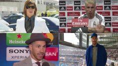 Los looks estrafalarios de Sergio Ramos.