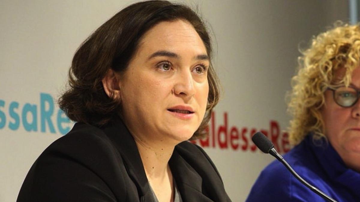 La alcaldesa barcelonesa Ada Colau. (Foto: Ayuntamiento)