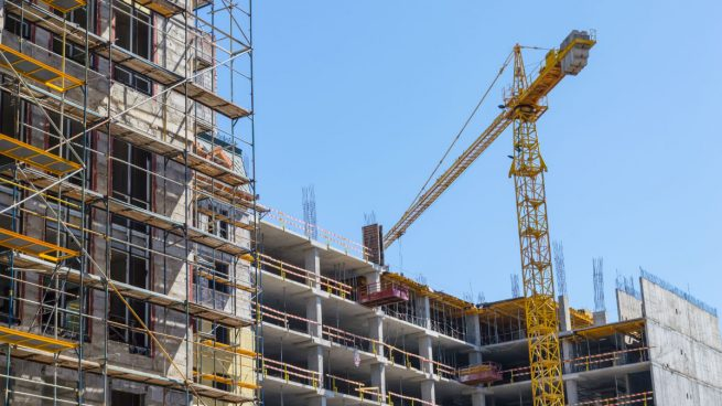 El empleo en el sector de la construcción repunta un 6,9% en el primer de 2018
