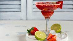 Cómo preparar un Margarita de fresa paso a paso.