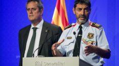 El investigado por la Audiencia Nacional José Luis Trapero y el encausado en el Supremo, Joaquim Forn.