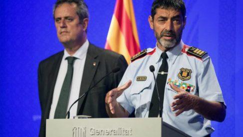 Josep Lluís Trapero y Joaquim Forn