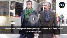 Declaración del exconsejero madrileño, Francisco Granados, en la trama Púnica. 12-02-18.