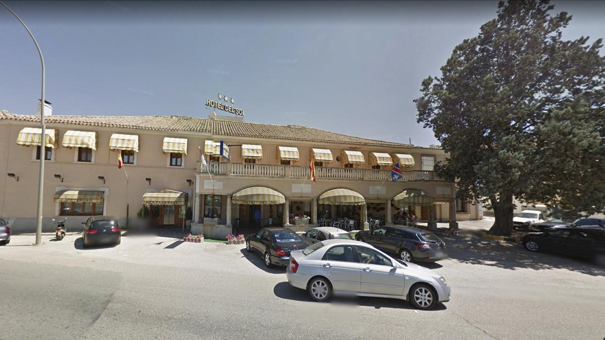 Hotel donde ocurrieron los hechos.