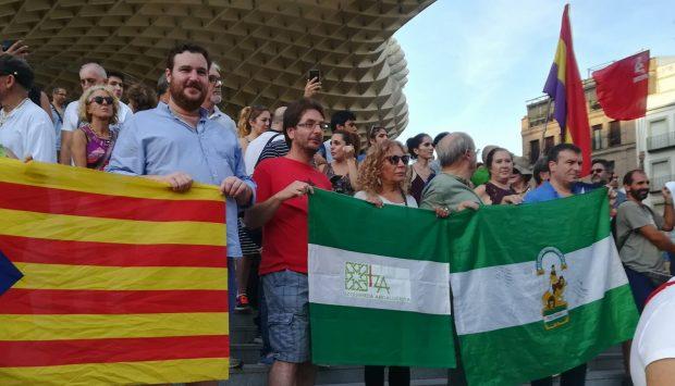 Acto de Iniciativa Andalucista en Sevilla