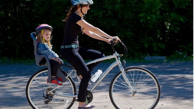 Consejos para comprar una silla portabeb s para bicicleta - Silla portabebes bicicleta ...
