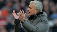 José Mourinho se mostró muy enfadado con la prensa. (Getty)