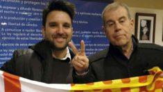 El presidente del Cádiz junto a Tomás Guasch. (Tabarnia)