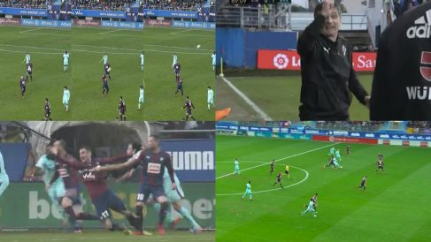 Todas las polémicas del Eibar – Barcelona.