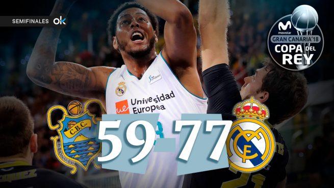 Doncic y Rudy llevan al Madrid a la final (59-77)