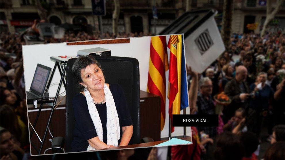 La interventora general de la Generalitat, Rosa Vidal.