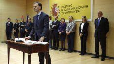 Enrique Rubio toma posesión como presidente del Instituto de Contabilidad y AuditorÌa de Cuentas (ICAC). (Foto: EFE)