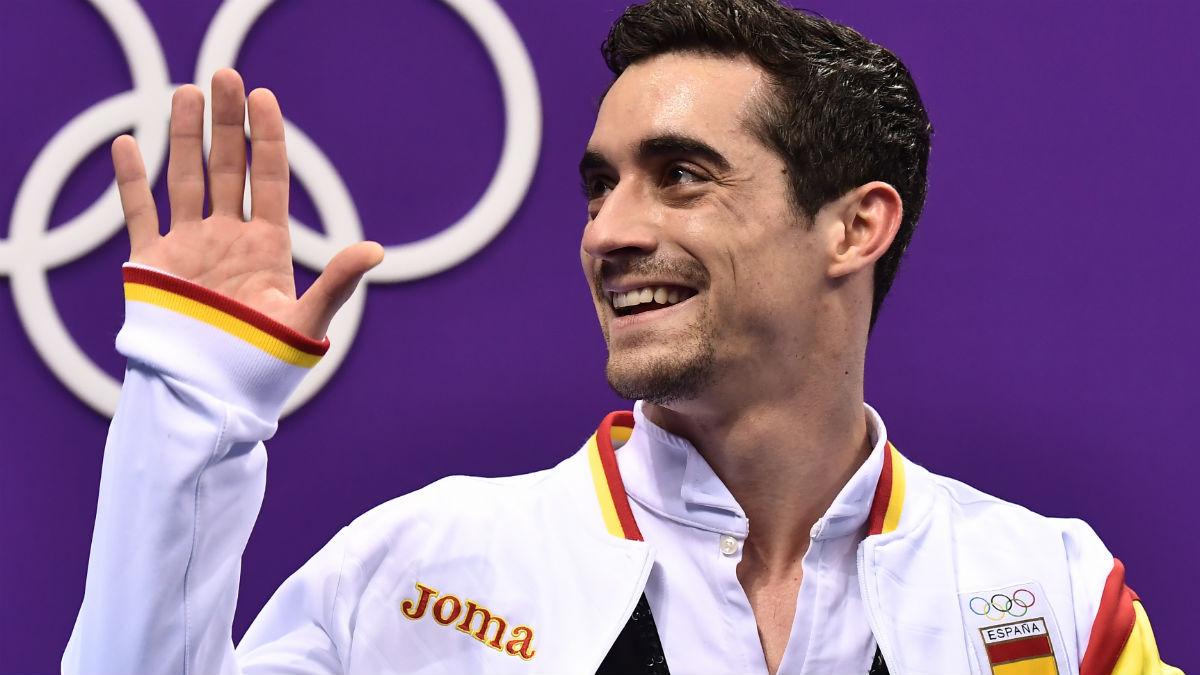 Javier Fernández. (AFP)