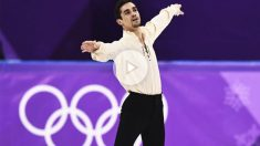 Javier Fernandez, bronce olímpico en PyeongChang (Foto: AFP)