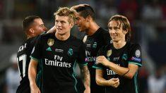 Kroos y Modric, en un partido con el Real Madrid. (EFE)