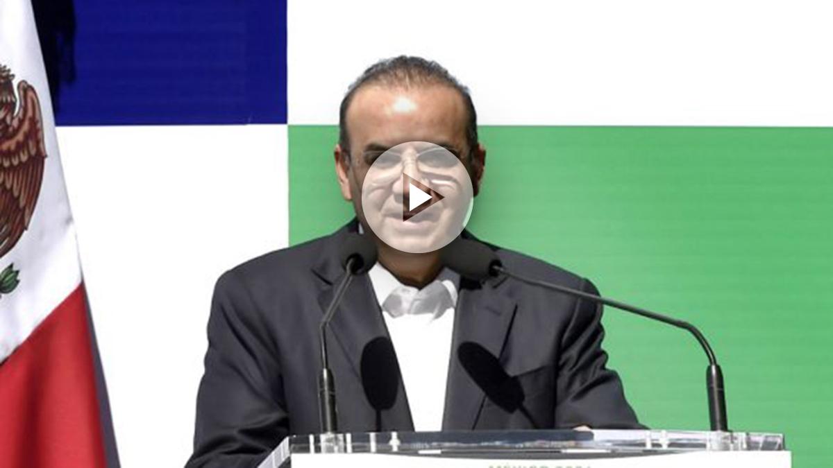 Alfonso Navarrete en una reciente imagen (Foto: AFP).
