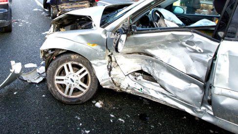Imagen de un reciente accidente de tráfico (Foto: Efe).