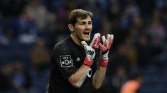 Casillas regresó a la titularidad ante el Rio Ave, tras la derrota del Oporto en Champions (AFP).