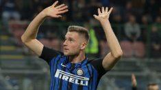 Skriniar pide perdón a sus exaficionados de la Sampdoria. (Getty Images)