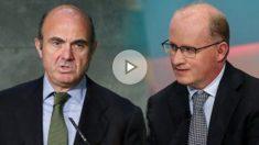 El ministro de Economía, Luis de Guindos, y Philip Lane, actual gobernador del Banco de Irlanda se disputarán la vicepresidencia del BCE