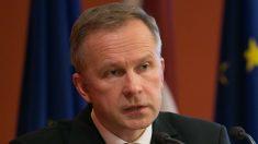 Ilmars Rimsevics, gobernador del banco central de Letonia
