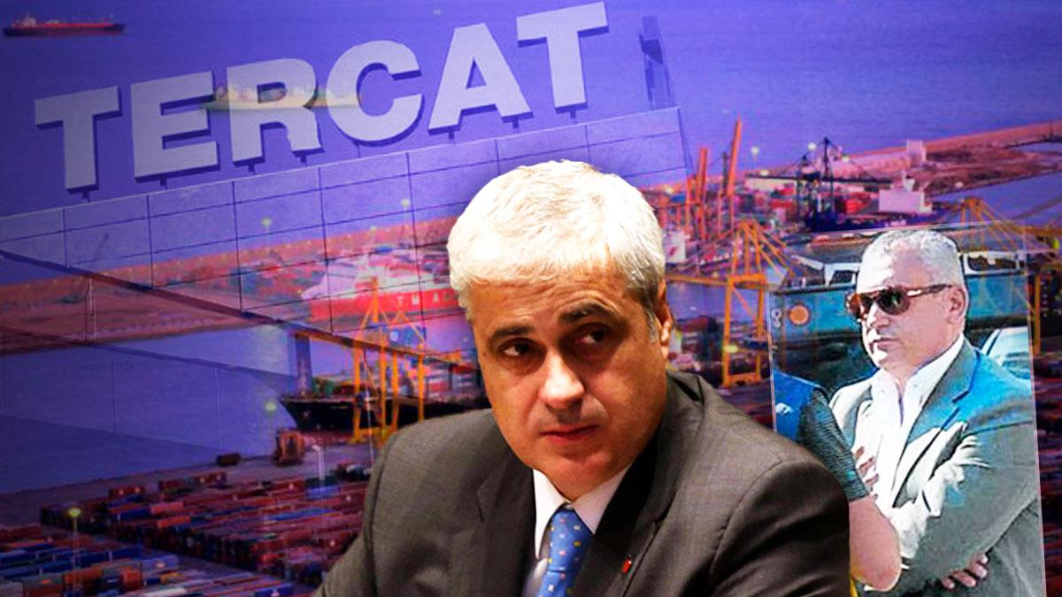 El ex conseller de Justicia de la Generalitat Germà Gordó y el narco José Mestre, ex director general de TerCat.