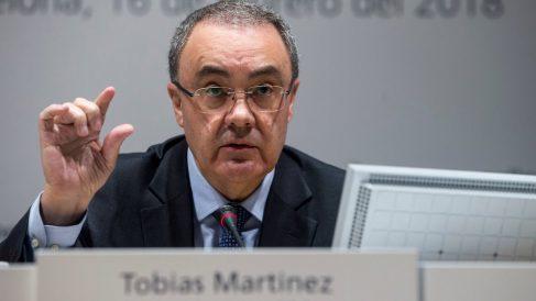 El presidente y CEO de Cellnex, Tobias Martinez. (Foto: EFE)