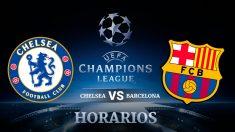 Consulta aquí a qué hora y dónde ver el Chelsea – Barcelona.