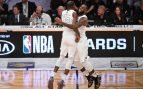 LeBron triunfa en el All Star: victoria de su equipo y MVP