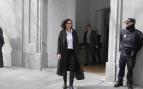 Marta Rovira a la salida del Tribunal Supremo