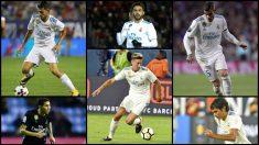 Los seis fichajes del Real Madrid no juegan en los partidos grandes.