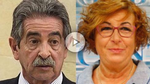 Miguel Ángel Revilla y Felisa Lois
