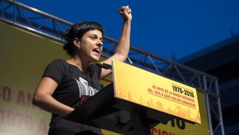 Anna Gabriel, ex diputada de la CUP. (Foto: AFP)