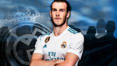 Gareth Bale con la camiseta del Real Madrid.