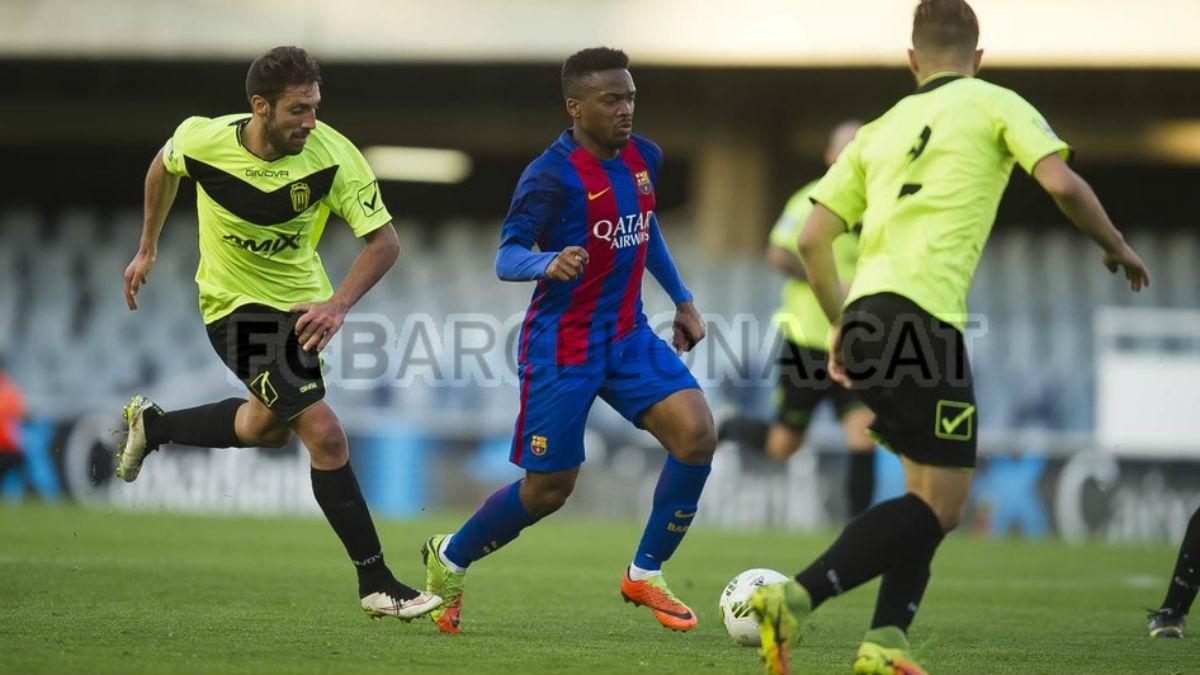 Imagen del Barcelona B – Eldense. (fcbarcelona.es)