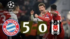 Bayern – Besiktas: Champions League.