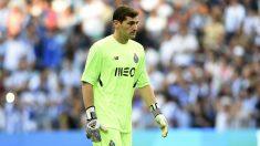 Casillas, en un partido con el Oporto. (Getty)