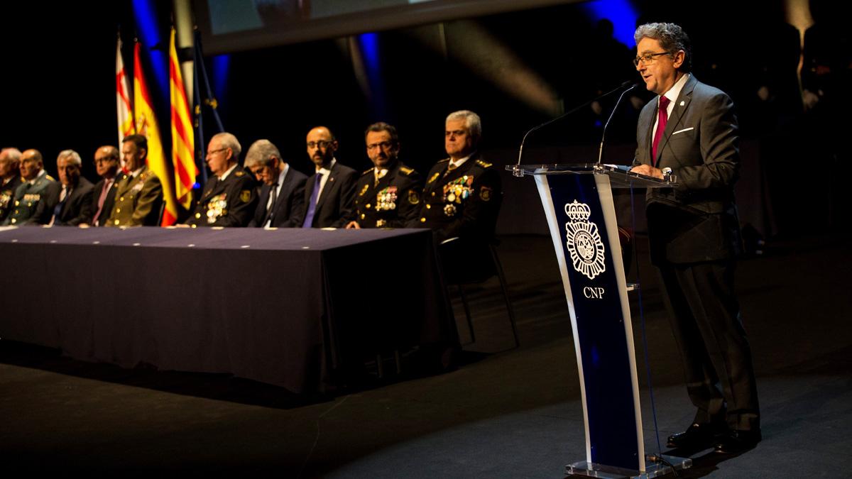 Celebración del 194 aniversario de la Policía Nacional. (Foto: EFE)