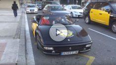 Un impresionante Ferrari F355 Spider está haciendo las veces de taxi en Barcelona gracias a una curiosa iniciativa de una empresa responsable de una aplicación destinada a solicitar los servicios de este gremio.