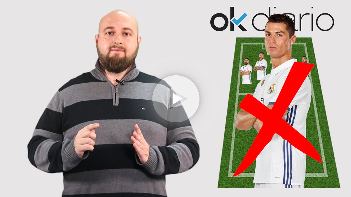 El Real Madrid no contará con Cristiano Ronaldo en su visita a Butarque.