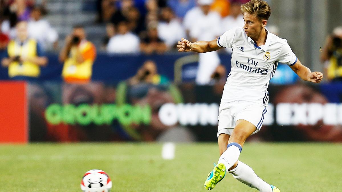 Marcos Llorente quiere minutos tras una temporada casi inédito en el Real Madrid.