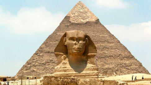 Pirámide de Giza donde se produjo el atentado