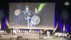 Acto de entrega de medallas a los mossos en Barcelona.