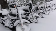 Guarda tu moto en invierno sin llevarte sorpresas desagradables.
