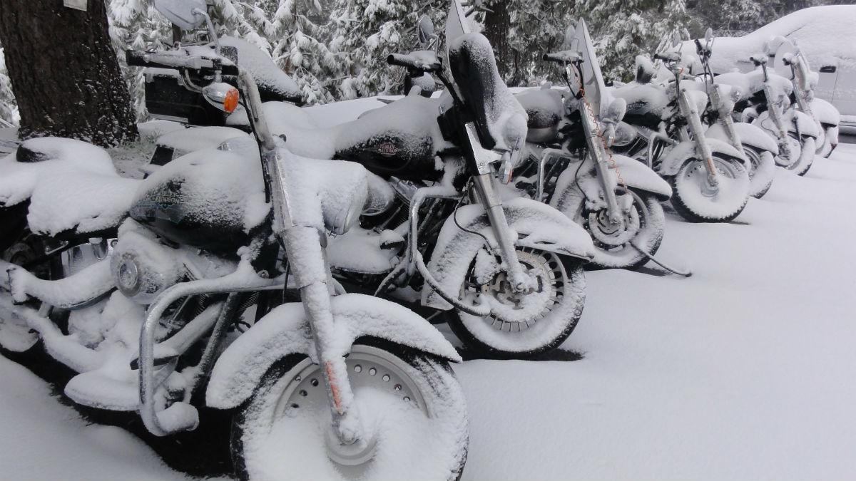 Guarda tu moto en invierno sin llevarte sorpresas desagradables.