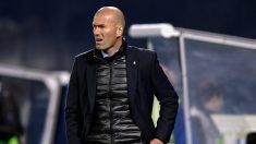 Zidane es uno de los grandes sueños del jeque. Su continuidad en el Real Madrid la próxima temporada no es segura al 100% debido a la mala trayectoria del equipo en Liga. Sin embargo, sale reforzado de la eliminatoria contra el PSG. (AFP)